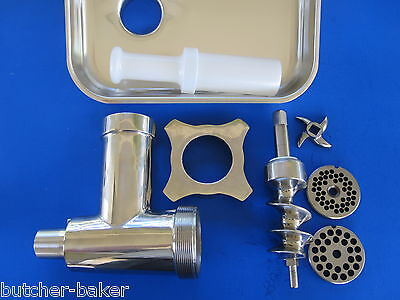 Hobart Meat Grinder Attachment Plate  Oem 477036-4 #12 1//4   6.5 Mm Brand New