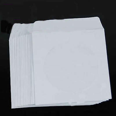50 pcs 5inch Paper CD DVD Flap Case Cover Envelopes Set