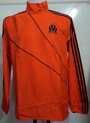 Olympic Marseille Orange Windbreaker By Adidas Size 40/42 Inch Chest Brand New