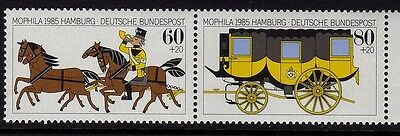 W Germany 1985 Stamp Exhibition SG 2104 - 2105 MNH