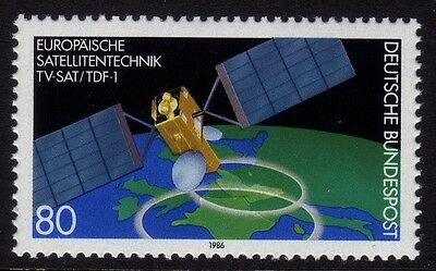 W Germany 1986 TV-Sat/TDF-1 SG 2133  MNH