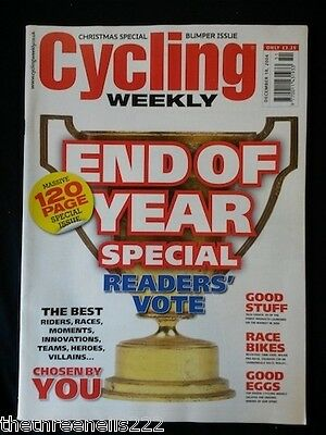 Cycling Weekly - End Of Year Special - Dec 18 2004