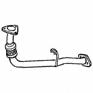 Land Rover Discovery Td5 98 - 02 Front Down Pipe Exhaust Flexi  Lr175 Decat
