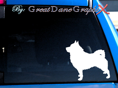 Schipperke #1 Vinyl Decal Sticker / Color Choice - HIGH QUALITY