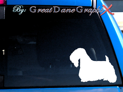 Sealyham Terrier - Vinyl Decal Sticker / Color Choice - HIGH QUALITY