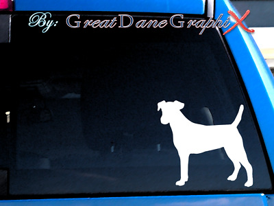 Smooth Fox Terrier #1 Vinyl Decal Sticker / Color Choice - HIGH QUALITY