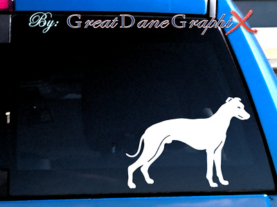 Whippet #2 Vinyl Decal Sticker / Color Choice - HIGH QUALITY