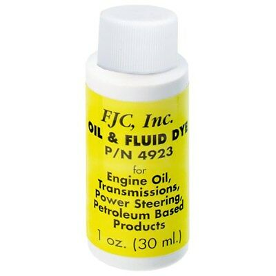 Fjc Transmission Oil Dye Leak Detection 1Oz 4923