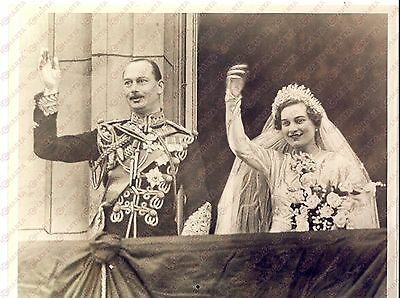 1935 LONDON Buckingham Palace - Nozze Henry di GLOUCESTER e lady Alice SCOTT