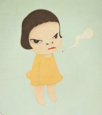 Oil painting Reproduction Yoshitomo Nara Too Young to Die made to order