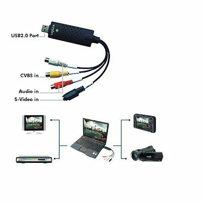Logilink Vg0001A Usb Video Grabber Mit Audio + Software Videobearbeitung Win10