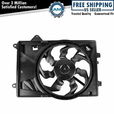 Radiator Cooling Fan Assembly for 12-13 Chevy Sonic 1.8L