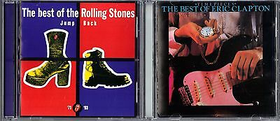 Jump Back; The Best of the Rolling Stones & Time Pieces; Best of Eric Clapton