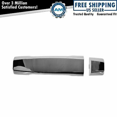 Front Exterior Outside Door Handle Chrome Passenger Side Right RH for Nissan