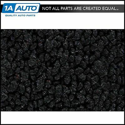1 Piece Molded Complete Carpet 01-Black 80/20 Loop for 55-57 Chevy Bel-Air Sedan