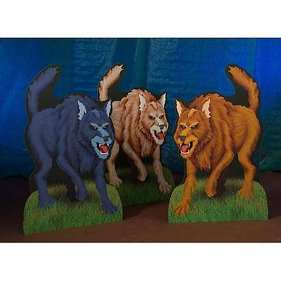 Lifesize Cardboard Cutout Standee Party Decoration  Animal Wolf Wolves Pack