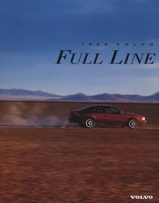 1998 Volvo Original Car Dealer Sales Brochure  - C70 S70 V90 S90 V70