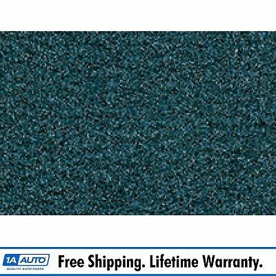 for 1987-91 Toyota Camry Cutpile 818-Ocean Blue/Br Bl Complete Carpet Molded