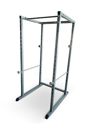 Power Rack Pull Up Bar Multi Gym Machine Olympic Cage Bench Press Smith Squat