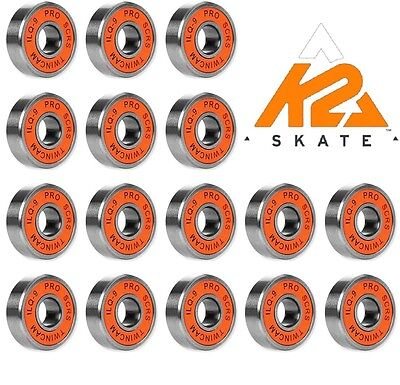 K2 Ilq9 Pro Scrs Twincam Bearings Speed-Race-Skate-Radical-X Lager Uvp 79,95 €