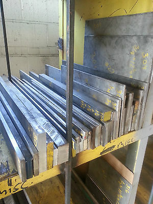 "STAINLESS STEEL FLAT  BAR ALLOY 316- 1 3/4"" X  2 1/2"" x  32 3/4"" (3I6)"