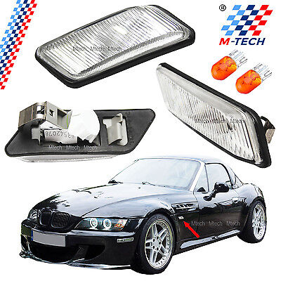 2 X Intermitentes Bmw Z3 Laterales Claros Side Markers Clignotants Indicatori