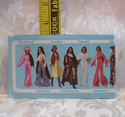Vintage Mego 1976 Sonny & Cher Mini Clothes Fashion Catalogue Fold Out