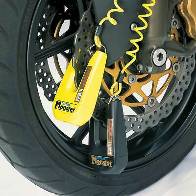 Oxford Monster Double Locking Ultra Strong Disc Lock - Bike/Motorcycle Security
