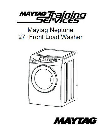 Download repair manual for maytag neptune washer