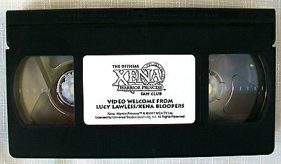 1997 LUCY LAWLESS XENA BLOOPERS from The Official XENA WARRIOR PRINCESS FAN CLUB