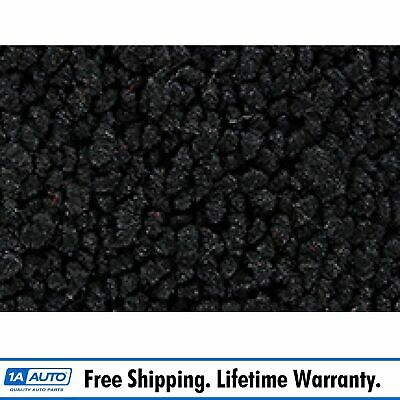 for 76 Chevy Corvette with Padding 80/20 Loop 01-Black Cargo Area Carpet Molded