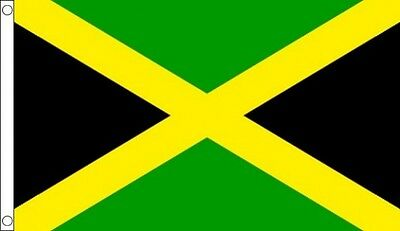 8' x 5' JAMAICA FLAG Jamaican Caribbean Giant Extra Large Funeral Coffin Drape