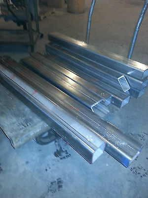 "Stainless Steel Rec Tube Alloy 304- 3"" X 5"" X .250"" X 35 3/4"" Long"