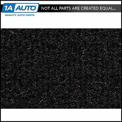 for 1986-89 Honda Accord 2 Door Cutpile 801-Black Complete Carpet Molded