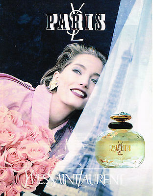 Par 088 1992 Ysl Publicité Advertising Saint Yves Laurent Parfum j354LAR