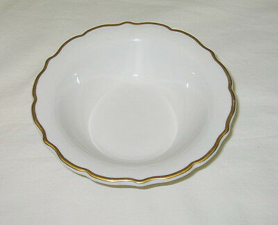 Syracuse USA Gourmet Gold Design Restaurant Cereal/Soup Bowl