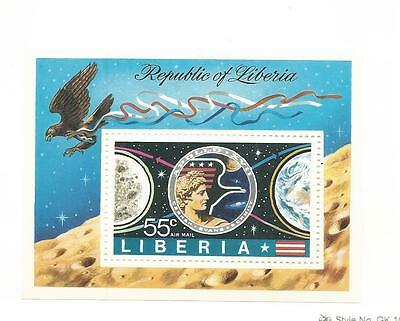 Liberia, Postage Stamp, #C196 Mint NH Sheet, 1973 Space