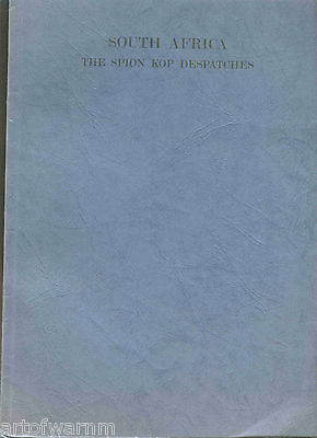 SOUTH AFRICA. THE SPION KOP DESPATCHES - reprint, paper covers 1900 Boer War