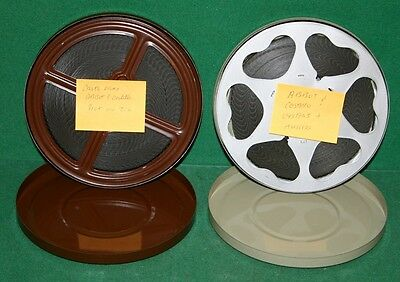 Pair of Vintage Castle Films - Abbott & Costello Oysters & Muscles & More - 8MM