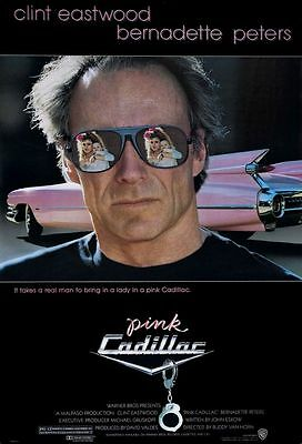 Pink Cadillac - original movie poster  27x40 - Clint Eastwood