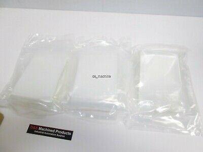 "New Box of 250 Cleanroom Nylon Bags 3""x8.5"" 0.002"" Thick"