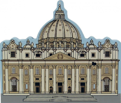 Cat's Meow Village St. Peter's Basilica Italy #03-913 NEW SHIPPING DISCOUNTS