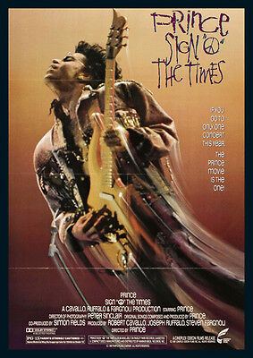 Prince Sign Of The Times Repro Film POSTER