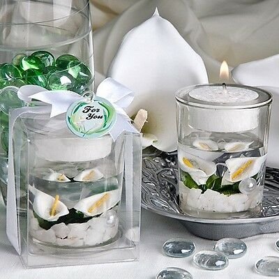 Calla Lily Candle Favor Wedding Bridal Shower Gift Favors