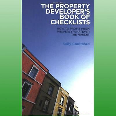 Property Developers Book of Checklists by Coulthard Sally