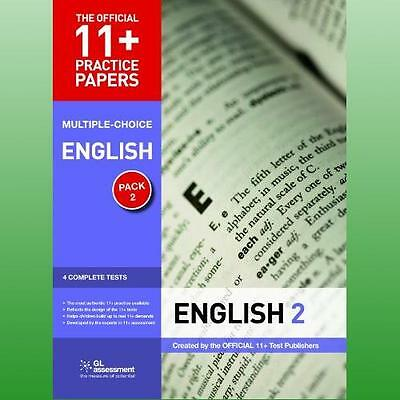11 Practice Papers English Pack 2 Multiple Choice by GL Assessment