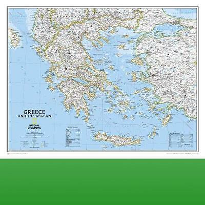 Greece and the Aegean by National Geographic Maps