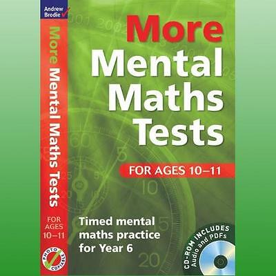 More Mental Maths Tests for Ages 1011 by Brodie Andrew