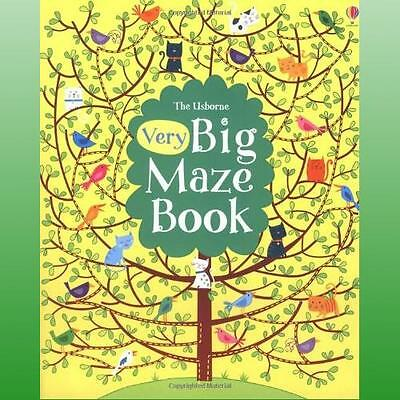 Very Big Maze Book by Robson Kirsteen