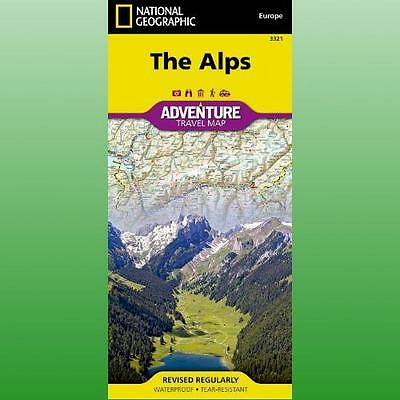 Alps by National Geographic Maps